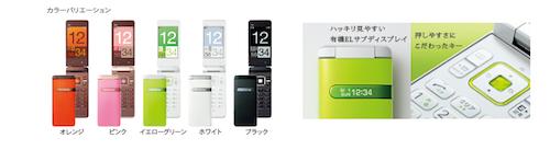 携帯電話の新機種「GRATINA」
