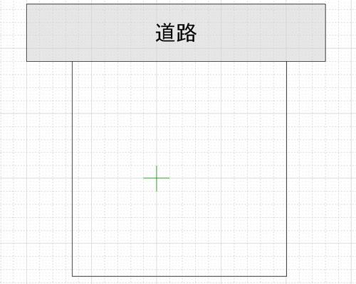 敷地の平面図