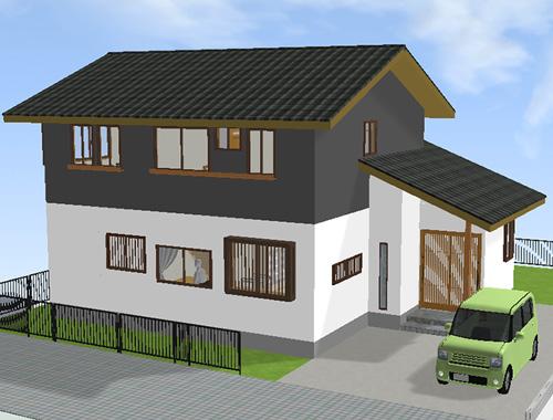 屋根瓦の色03