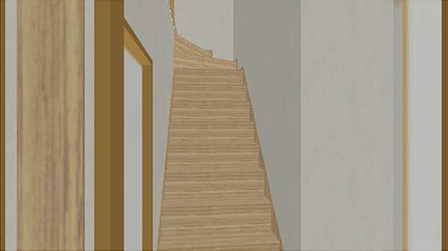 ウォークスルー機能-階段