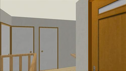 ウォークスルー機能-2階廊下