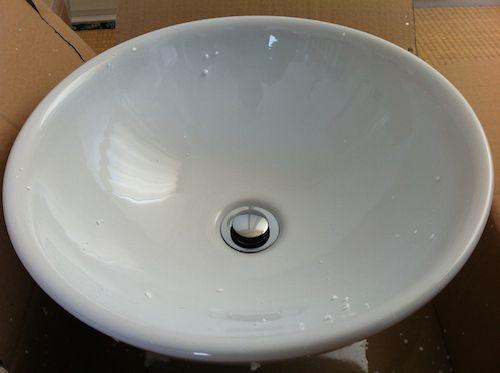 止水栓-水を流すとき