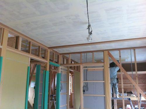 1階の天井
