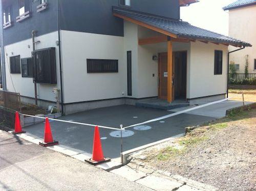 駐車場の状態01