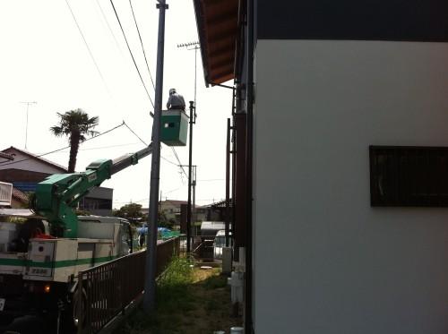 光回線引き込み工事