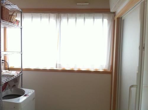洗面所・脱衣所の窓