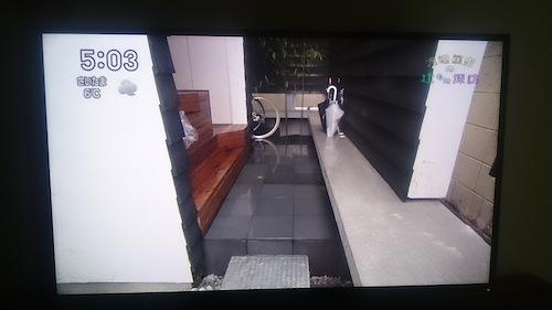 玄関の物置台