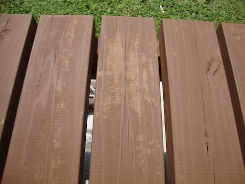 濡れ縁の塗装4