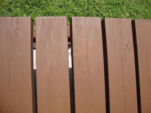 濡れ縁の塗装5