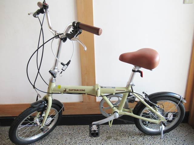 自転車置き場がないので玄関に置ける折り畳み自転車を購入