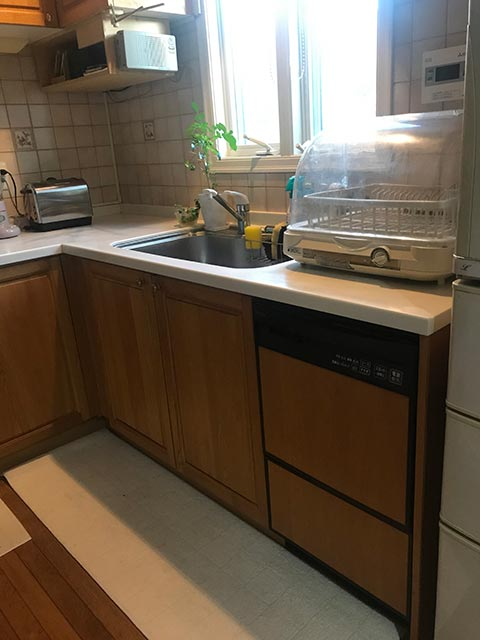 キッチン・食洗機の写真