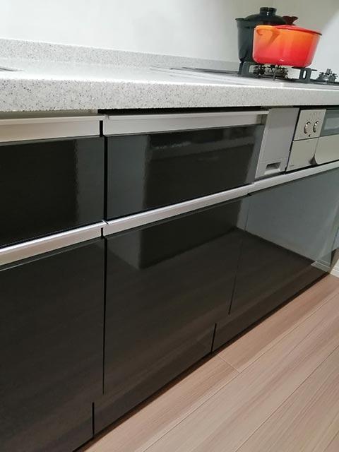 ビルトイン食洗機の写真