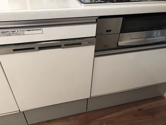 キッチンと食洗機の写真
