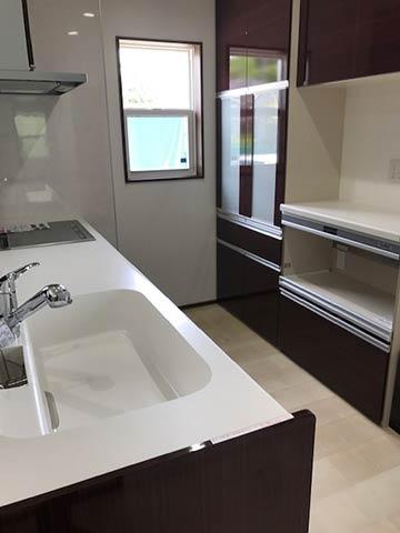 キッチンにある食洗機