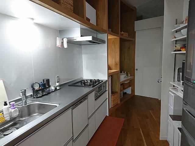 食洗機のあるキッチン