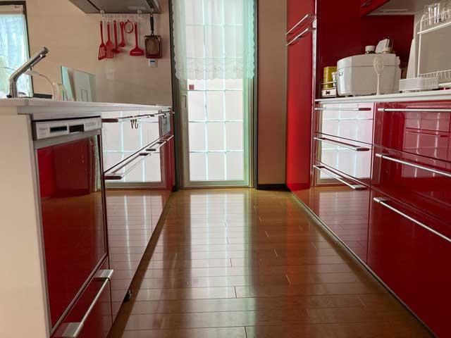 キッチンと食洗機
