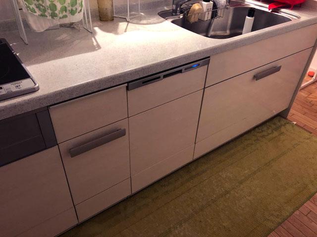 パナソニック食洗機のあるキッチン