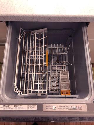 パナソニッック食洗機の内側