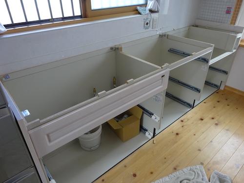 キッチン天板リフォーム