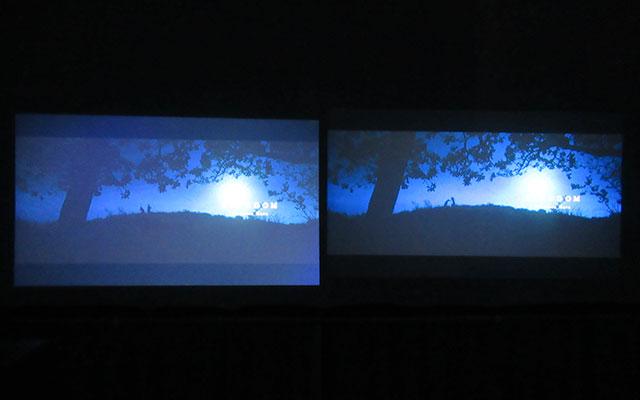 「ギングダム」の映像比較