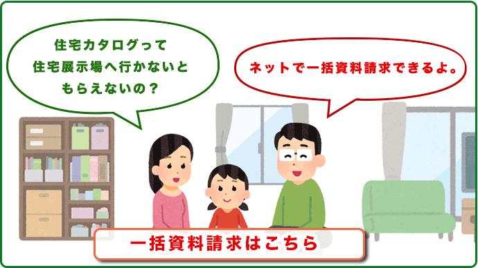 住宅カタログ一括資料請求サービスを比較